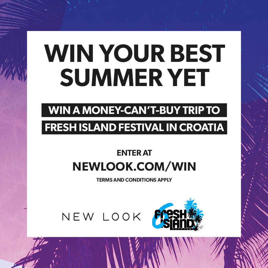 Follow the link to enter the New Look Fresh Island Competition www.NewLook.com/Win Competition closes on 25th June.