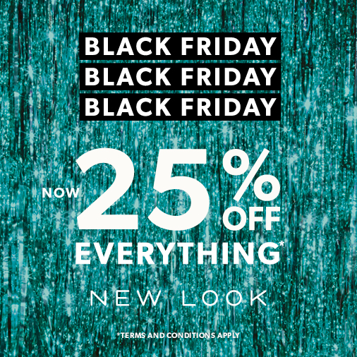 Black Friday offers at New Look