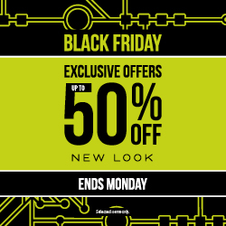 Up to 50% off Black Friday Weekend