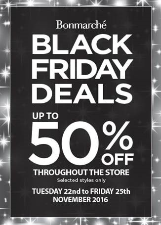 Check out the Bonmarché Black Friday deals where you can get up to 50% off throughout the store.