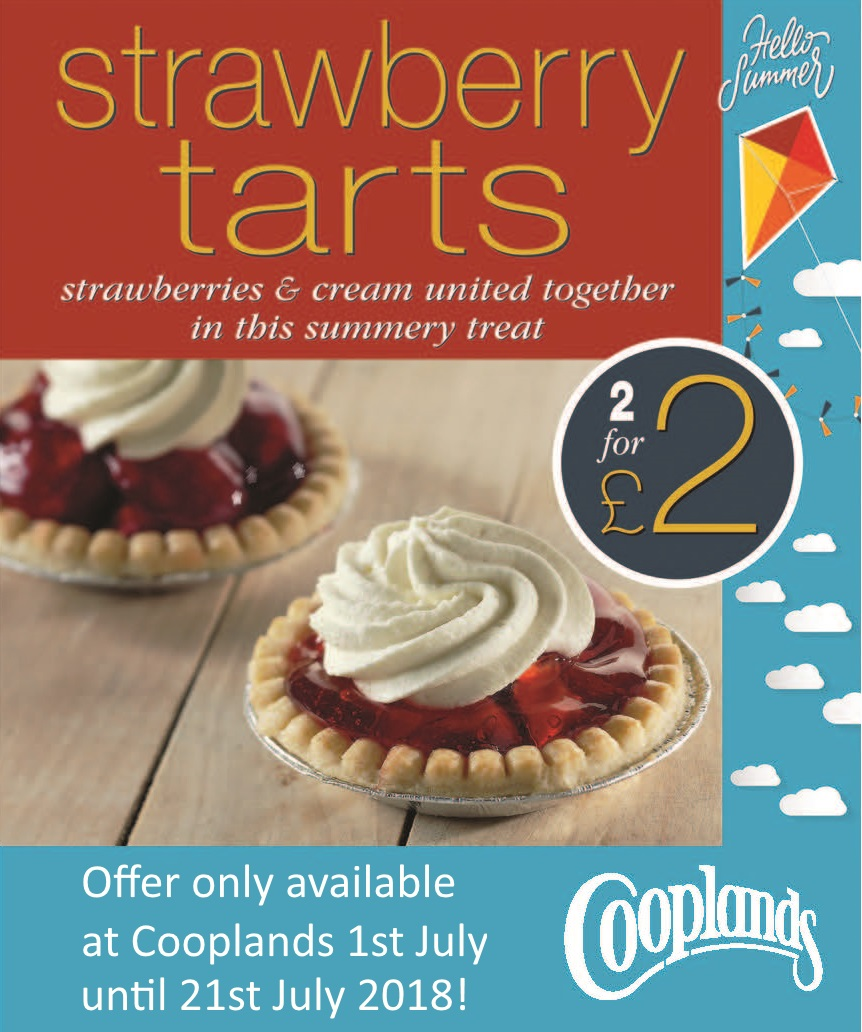 2 for £2 Strawberry Tart