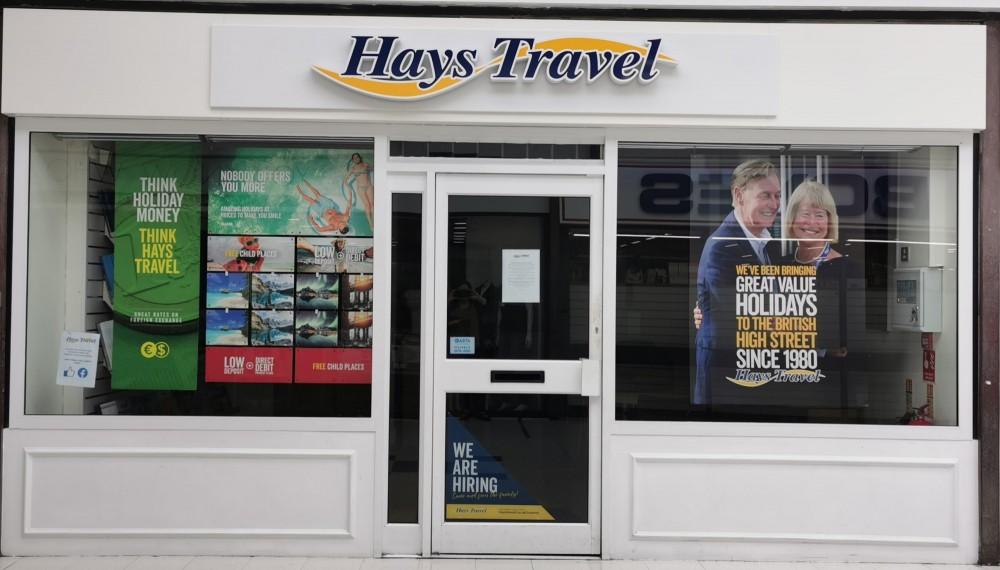 Hays Travel Now Open