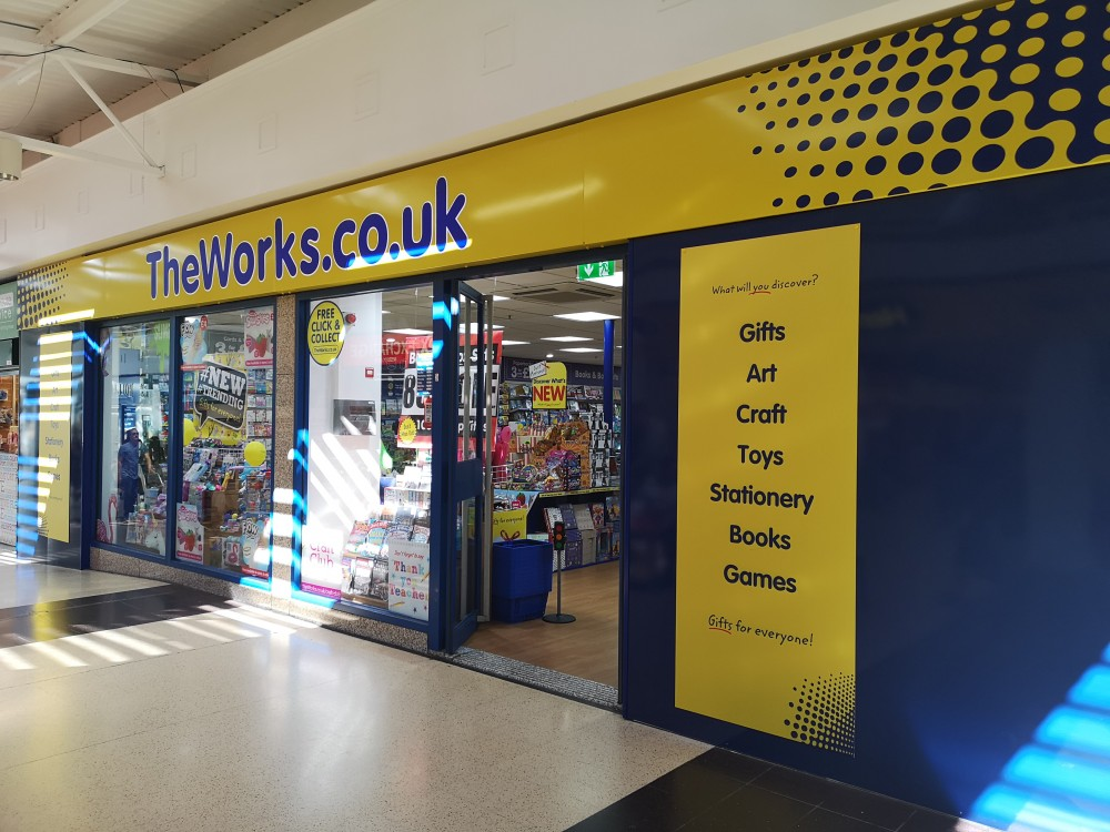 THE WORKS OPENS NEW STORE AT NORTH POINT SHOPPING CENTRE